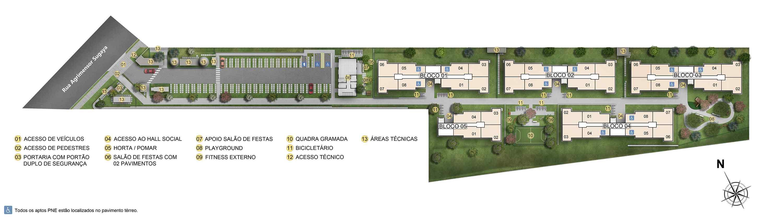 Planta de apartamento em Portal de Itaquera | São Paulo | SP | planta 1 | tenda.com