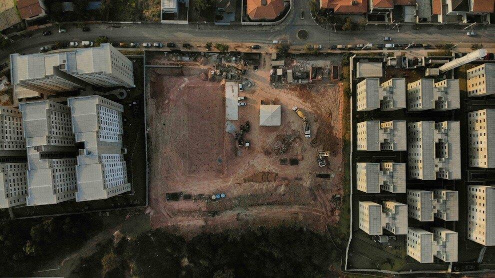 Fotos de obras no empreendimento Turquesa   São Paulo   SP   foto 1   tenda.com