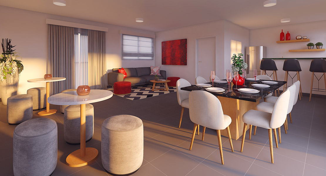 Fotos do Solar do Oeste II | Apartamento Minha Casa Minha Vida | Tenda.com
