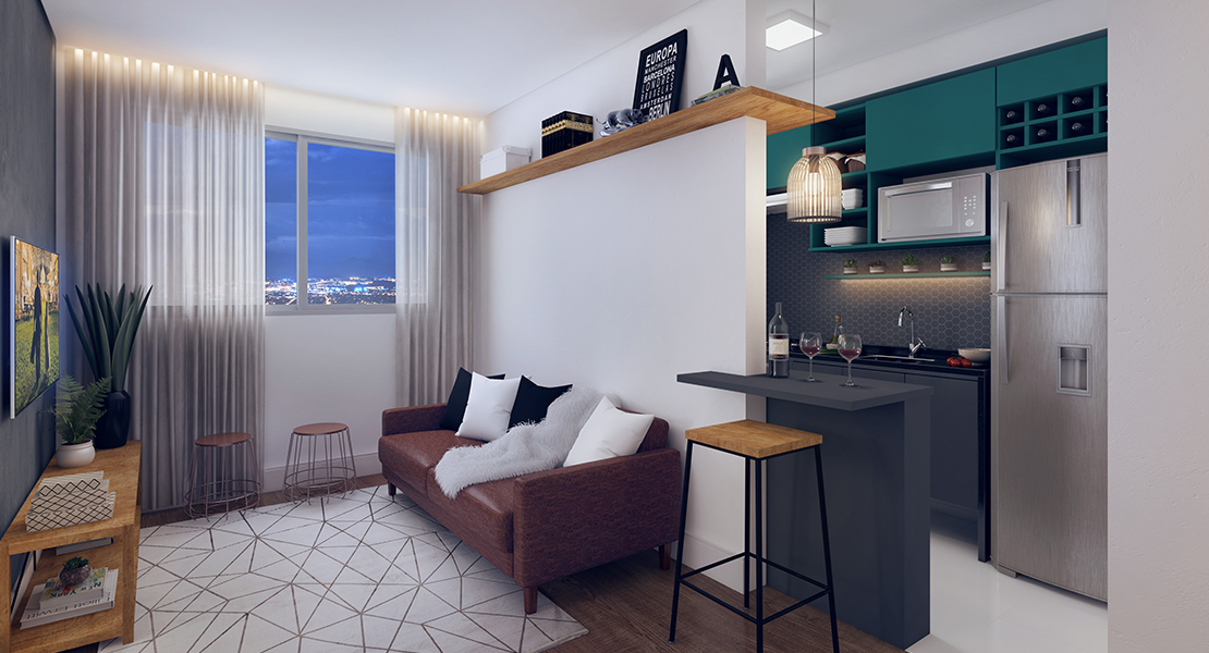 Fotos do Turquesa   Apartamento Minha Casa Minha Vida   Tenda.com