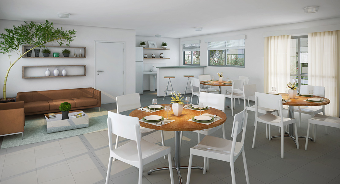 Fotos do Pátio Limão | Apartamento Minha Casa Minha Vida | Tenda.com