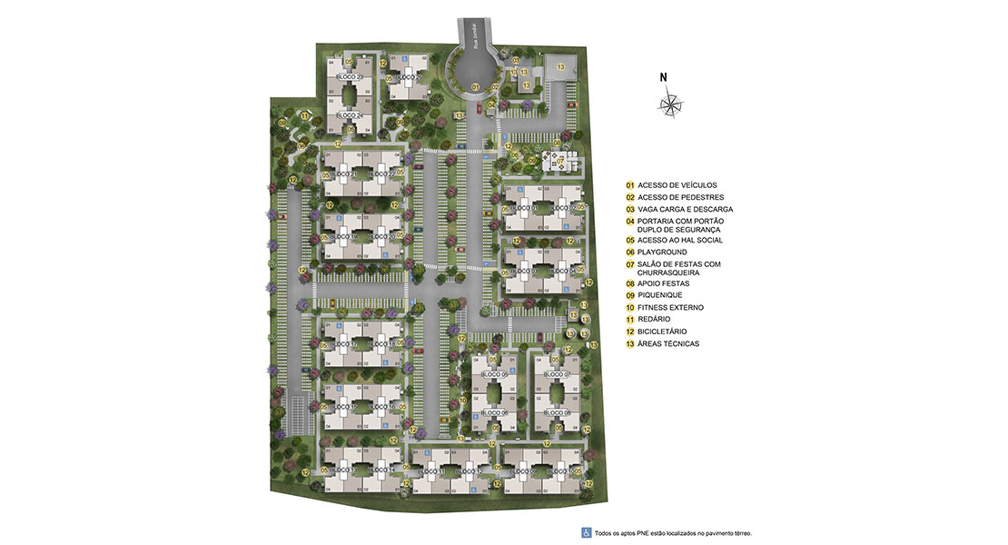Planta de apartamento em Praia Bela | Jaboatão dos Guararapes | PE | planta 1 | tenda.com