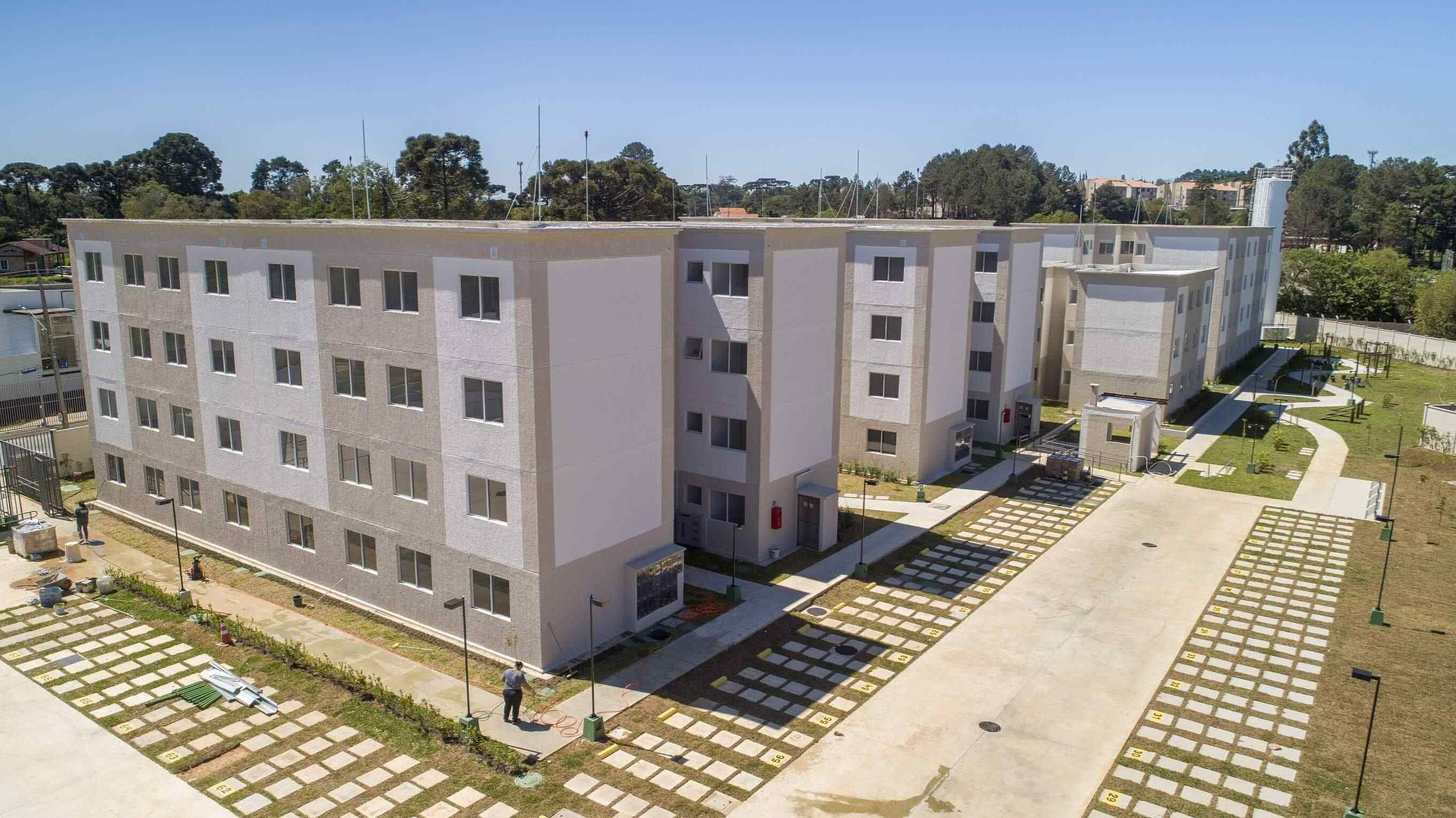 Planta de apartamento em Ville Provence | Curitiba | PR | planta 1 | tenda.com