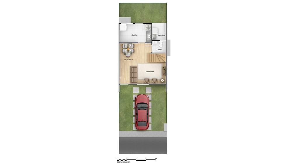 Planta baixa do Residencial Jardim Girassol II Apartamento Minha Casa Minha Vida   Tenda.com