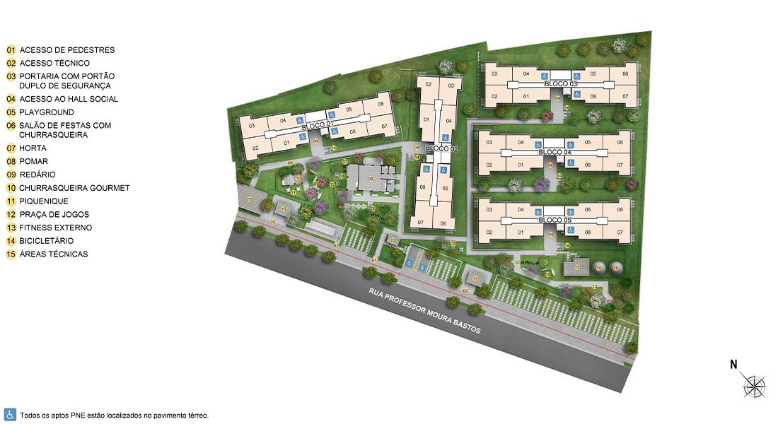 Planta de apartamento em Reserva do Conde | Salvador | BA | planta 1 | tenda.com