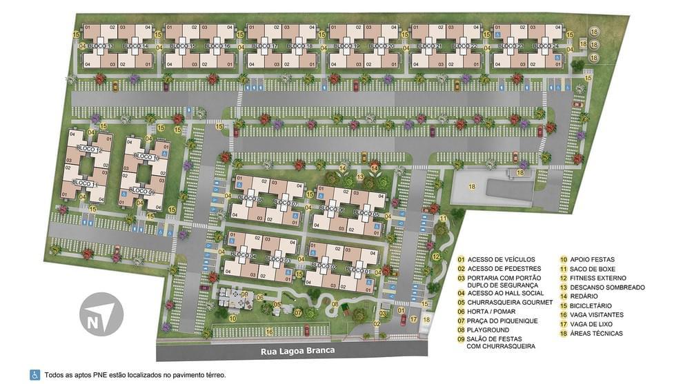 Planta baixa do Morada Premium Apartamento Minha Casa Minha Vida   Tenda.com