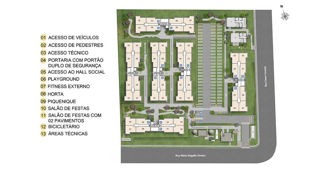 Planta de apartamento em Topázio   São Paulo   SP   planta 1   tenda.com