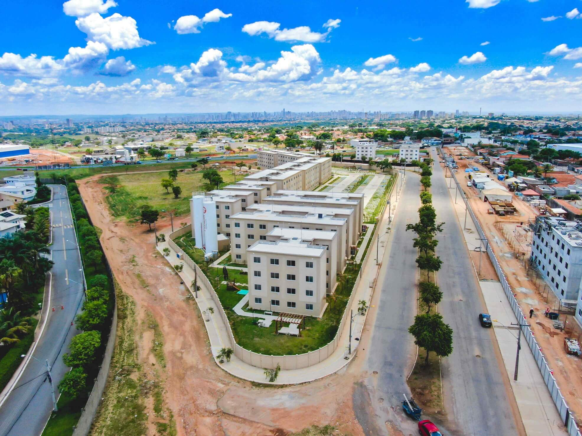 Planta de apartamento em Parque Cerrado II | Goiânia | GO | planta 1 | tenda.com