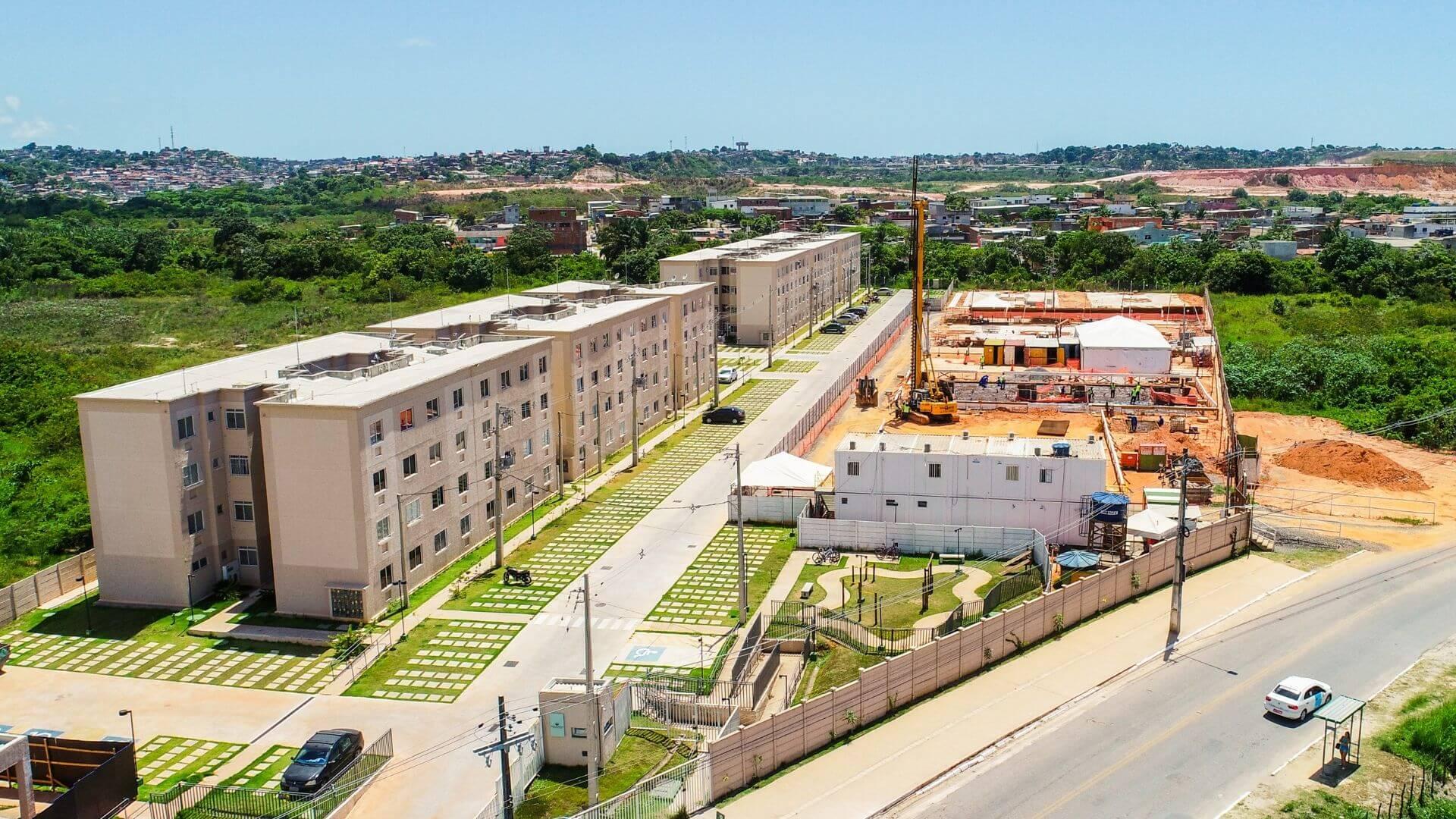 Planta de apartamento em Residencial Novo Atlântico Condominio Abrolhos   Jaboatão dos Guararapes   PE   planta 1   tenda.com
