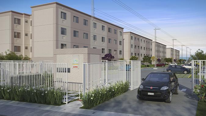 More em um apartamento Tenda no  Residencial Campo de Aviação Condomínio Santos Dumont | Construtora Tenda | tenda.com