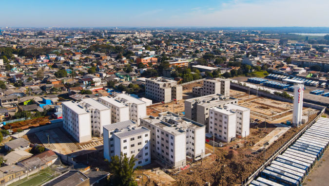 Planta de apartamento em Reserva dos Sonhos | Porto Alegre | RS | planta 1 | tenda.com