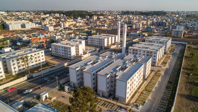 Planta de apartamento em Villagio Di Parma   São José dos Pinhais   PR   planta 1   tenda.com