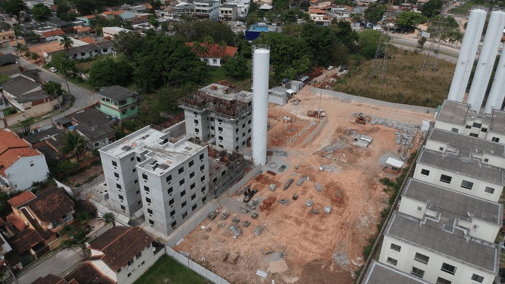 Planta de apartamento em Esmeralda Ville   Rio de Janeiro   RJ   planta 1   tenda.com
