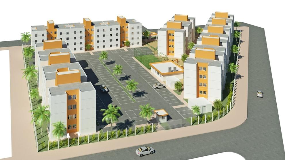 Planta de apartamento em Residencial Juscelino Kubitschek II | Porto Alegre | RS | planta 1 | tenda.com