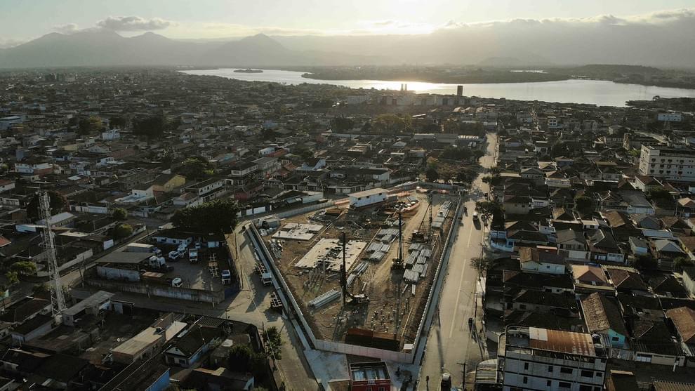 Fotos de obras no empreendimento Marlim | Santos | SP | foto 1 | tenda.com