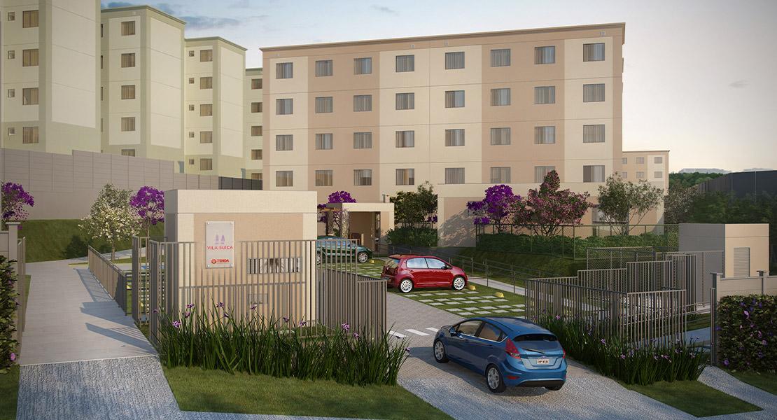 Fotos do Residencial Vila Suíça   Apartamento Minha Casa Minha Vida   Tenda.com