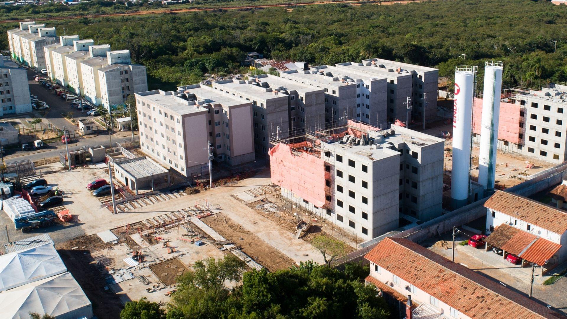 Fotos de obras no empreendimento Nova Primavera I   Canoas   RS   foto 1   tenda.com