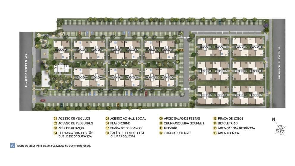 Planta de apartamento em Reserva do Sul I   Porto Alegre   RS   planta 1   tenda.com