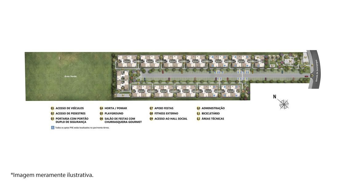 Planta de apartamento em Costa Verde   Rio de Janeiro   RJ   planta 1   tenda.com