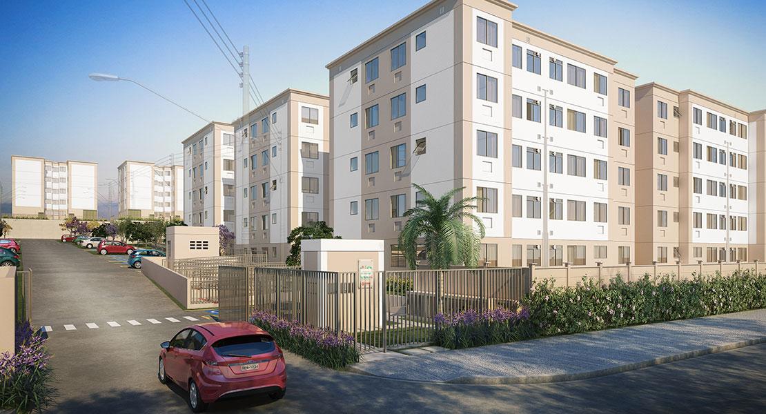 Apartamento à venda em Flora de Jacarepaguá | Rio de Janeiro | RJ | foto 1 | tenda.com