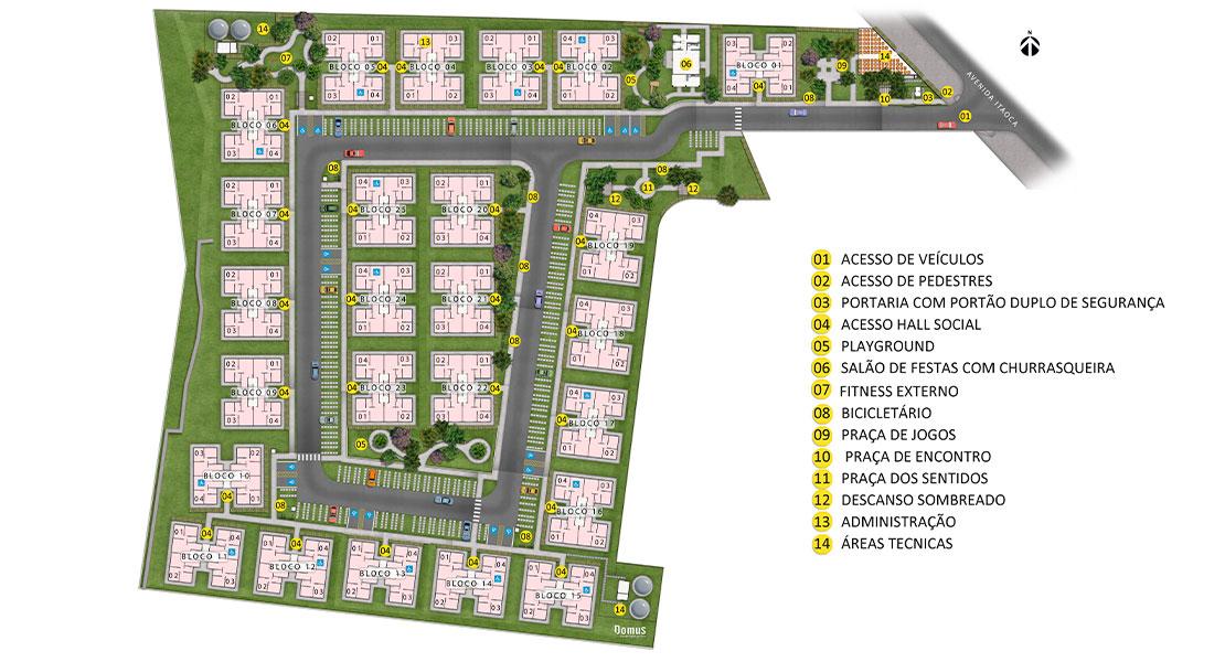 Planta de apartamento em Residencial Avenida   Rio de Janeiro   RJ   planta 1   tenda.com