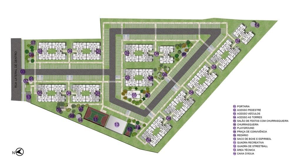 Planta baixa do Residencial Vila Cantuária Apartamento Minha Casa Minha Vida   Tenda.com