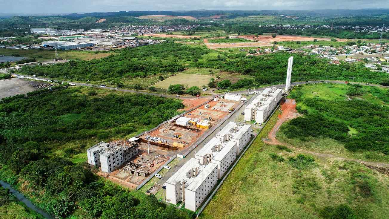 Fotos de obras no empreendimento Residencial Novo Atlântico Condominio Abrolhos | Jaboatão dos Guararapes | PE | foto 1 | tenda.com