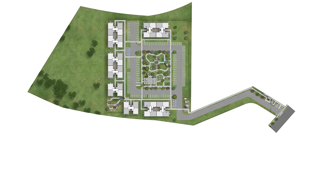 Planta baixa do Morada Goiá II Apartamento Minha Casa Minha Vida | Tenda.com