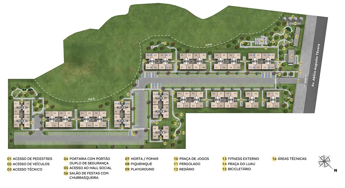 Planta baixa do Vale das Águas Apartamento Minha Casa Minha Vida | Tenda.com