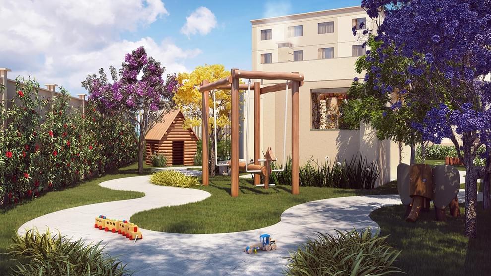 Apartamento à venda em Residencial Vista do Sol | Santa Luzia | MG | foto 1 | tenda.com