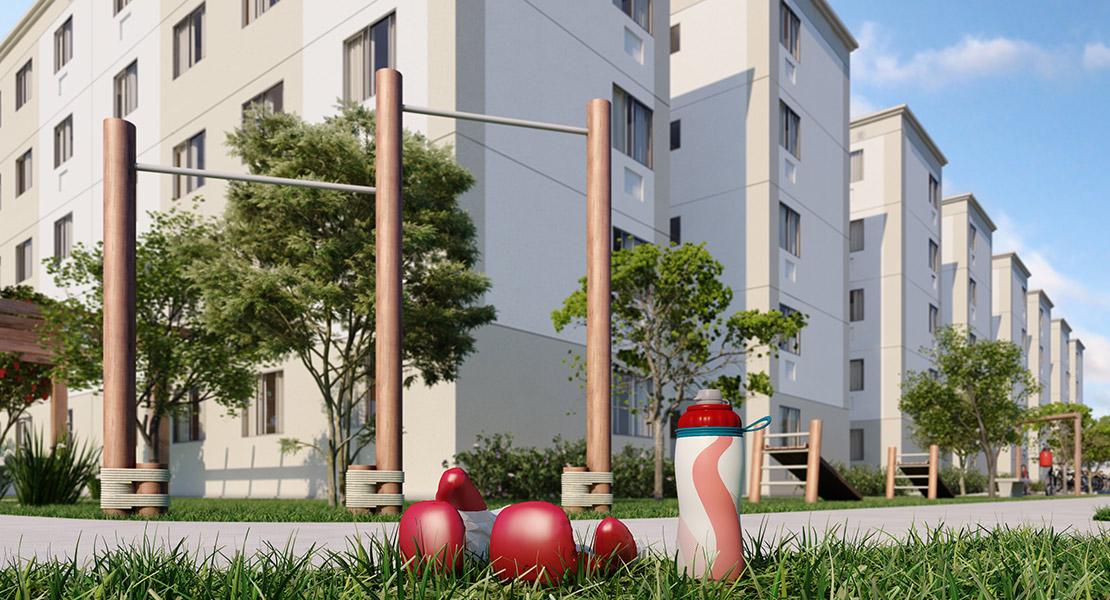 Fotos do Parque Tulipa | Apartamento Minha Casa Minha Vida | Tenda.com