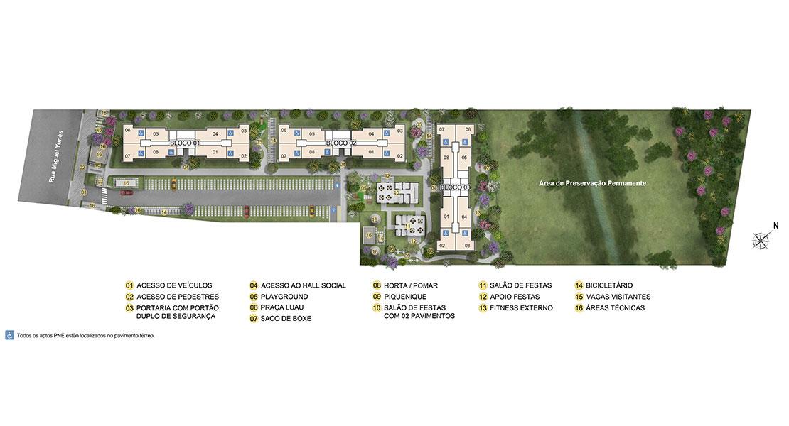 Planta de apartamento em Viva Marajoara | São Paulo | SP | planta 1 | tenda.com