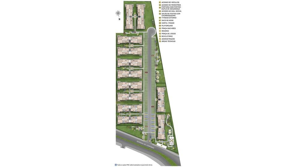Planta de apartamento em Bela Vida III   Rio de Janeiro   RJ   planta 1   tenda.com