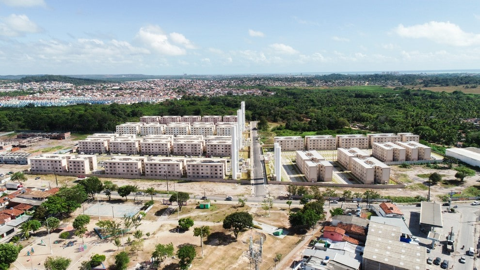 Planta de apartamento em Campo de Pouso Condomínio Zeppelin | Paulista | PE | planta 1 | tenda.com