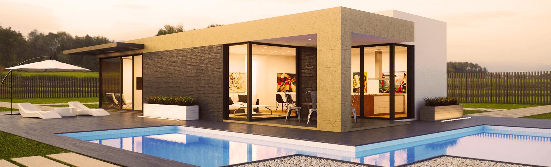 Seja bem-vindo a uma casa inteligente