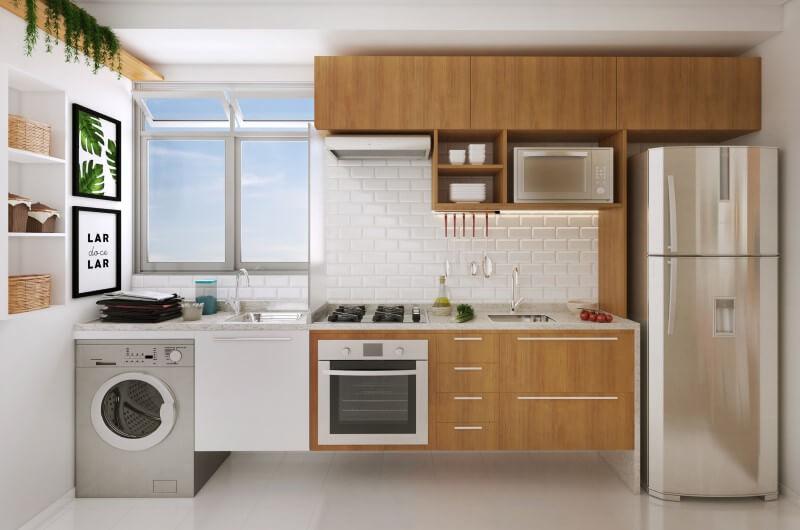 Cozinha com lavanderia   Decoração   Blog da Tenda