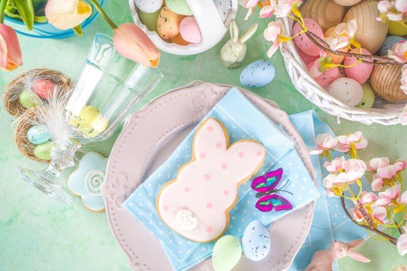 Decoração de Páscoa | Mesa decorada para o almoço de Páscoa | Blog da Tenda