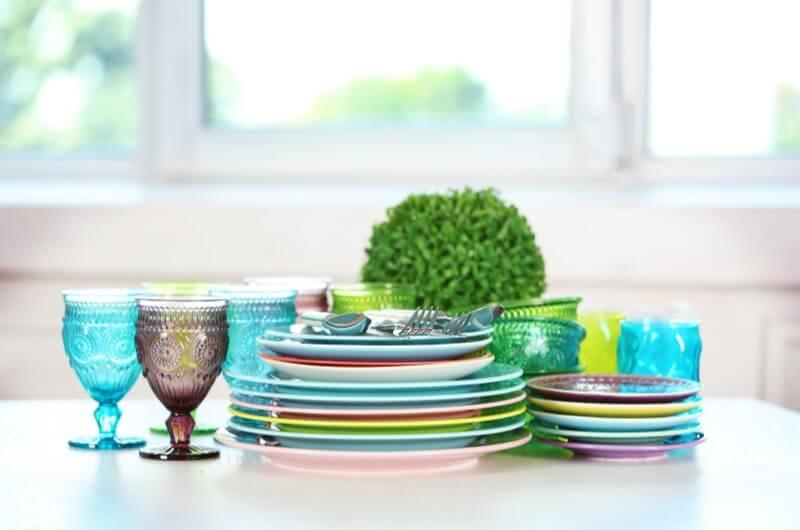 Mesa decorada colorida   Como montar uma mesa posta   Decoração   Blog da Tenda