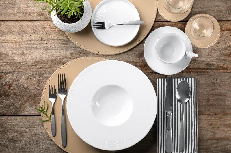 Mesa posta minimalista   Como montar uma mesa posta   Decoração   Blog da Tenda