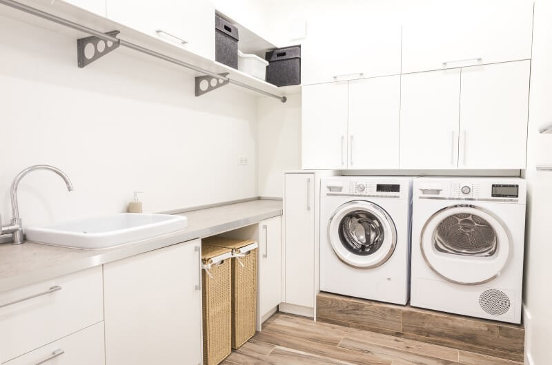 Lavanderia apartamentos pequenos   Decoração   Blog da Tenda