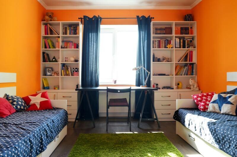 Decoração de quarto infantil compartilhado   Blog da Tenda