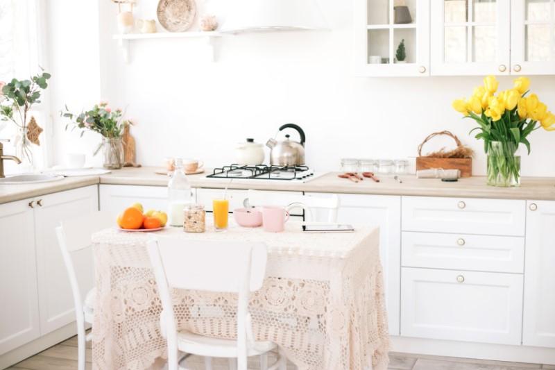 Cozinha com Estilo de decoração Romântico   Blog da Tenda