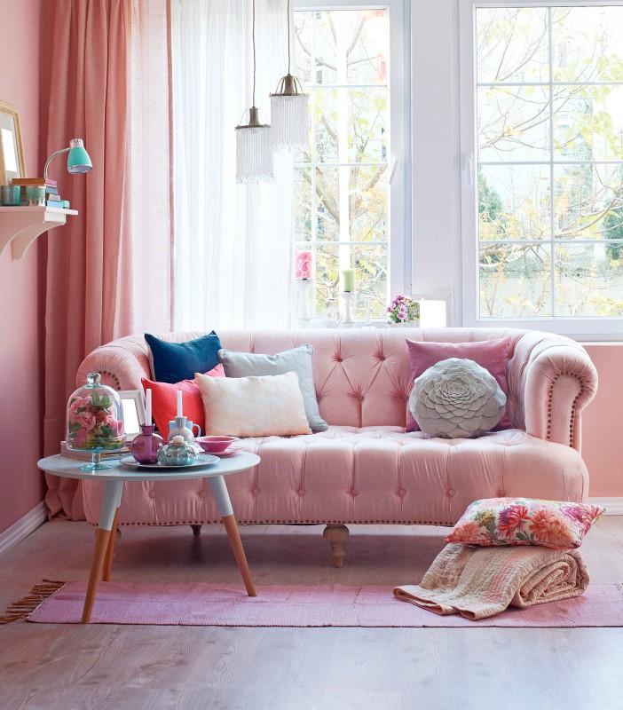 Sala de Estar com estilo romântico   Blog da Tenda